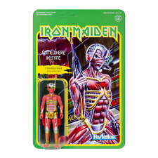 IRON MAIDEN - Cyborg Eddie Action Figure Toy ReAction - Somewhere In Time