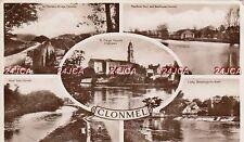 Irish Multi-view Real Photo. Clonmel. Co. Tipperary. River Suir Bathouse. 1939