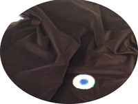Brown Cotton Velvet Fabric for Dressmaking - 5m, 2m,  Metre, ½m & FQ