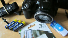 Fujifilm FinePix S Series S8650 16.0MP Digital Camera - Black-EXCELLENT