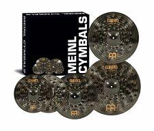 "Meinl Cymbals CCD460+18 Classics Custom Dark Pack Bonus Cymbal Box Set free 18"""