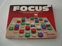 Vintage 1980 Focus Board Game From Spear's Games