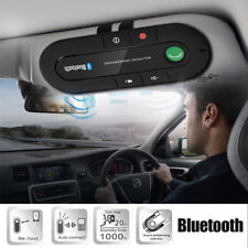 Wireless Bluetooth Handsfree Car Speakerphone Kit Speaker Phone Visor Clip .