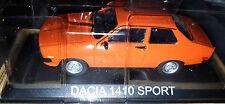 Dacia 1410 Sport Arancione - Scala 1:43 - DeAgostini - Nuova
