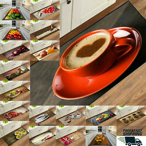 Non Slip Floor Mat Small & Large Rug Beautiful Fruit Design Kitchen Door Mat