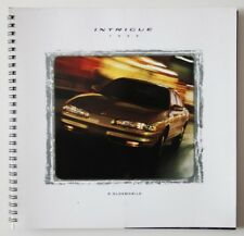 OLDSMOBILE Intrigue 1999 dealer brochure catalog - French - Canada
