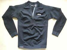 X-BIONIC Winter-Sport-Kompression-Sweatshirt-Pullover-Longsleeve M schwarz ITALY