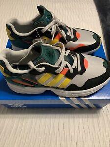 *NEW*Adidas Originals Yung-96 Grey Green Yellow DB2605 Mens  Size 10 With Box