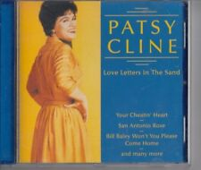 PATSY CLINE Love Letters In The Sand CD ROTATION LABEL HOLLAND