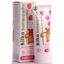 Bilka homeopathy ORGANIC 6+ Kids Toothpaste Fluoride & Sugar Free 50ml