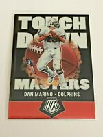 2020 Panini Mosaic Football Touchdown Masters - Dan Marino - Miami Dolphins