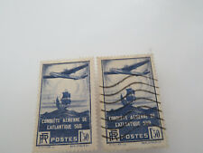 timbres FRANCE oblitérés nr 320 X 2
