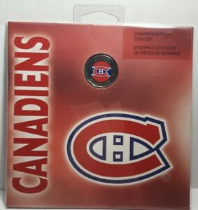 2008 Montreal Canadians Commemorative 7 Coin Set / Special Edition $1 Dollar