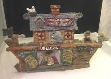Boyds Bears Noah'S Ark Series 1 Figurine #2450 Believe Ss Noah Room For 2 More