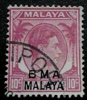 Malaya :1945 -1948 Straits Settlements Postage Stamps. Rare & Collectible Stamp.