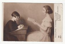 *** Salon de Paris - H. Chaumard - La Dictée *** années 1930 - CPA 0466