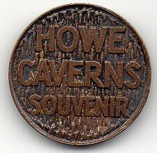 Witch of the Grottoes - Vintage mid-1900's Souvenir Coin Token - Howe Caverns NY