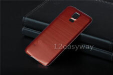 Luxury Metal Aluminum Housing Battery Door Back Hard Cover Case Skin For Samsung