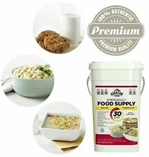 Emergency Food Survival Supply Prepper Storage Bucket MRE 30 DAY Rations Kit NEW