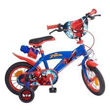 12 Zoll Kinderfahrrad Kinder Fahrrad Disney Spiderman Jungen 3 4 5 Jahre NEU