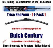 Super Premium NeoForm Wiper Blade (Qty 1) fits 1978-1996 Buick Century - 16180
