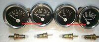 "Oil Pressure Mechanical Temp Elec Volt Fuel Gauge 0-90 ohms 2 1/16"" 52 mm"