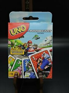 UNO Mario Kart Card Game