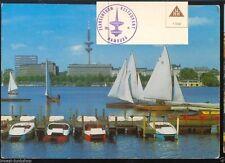 Stempel Ansichtskarten aus Hamburg
