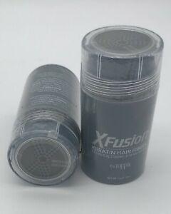 XFusion Keratin Hair Building Fibers One Bottle 15g/0.53oz Medium Brown