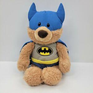 "Gund DC Comics Batman Malone Teddy Bear 14"" Plush Super Hero Stuffed Animal"
