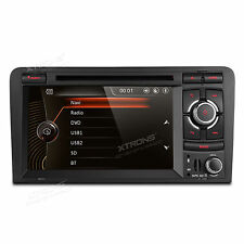 """Audi A3 S3 RS3 Double DIN 7"""" Stereo Car Radio DVD Player GPS Bluetooth RDS 1080P"""