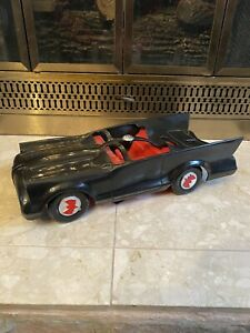 "Mego Batmobile - 13"" Long Missing Some Parts See Pics"