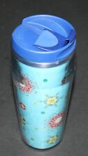 Starbucks Holiday 2004 Hologram Snowflake Candies Travel Mug Tumbler 16 Oz