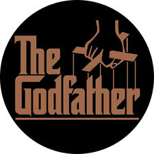 CHAPA/BADGE THE GODFATHER . pin button el padrino marlon brando robert de niro