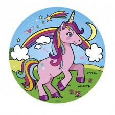 Einhorn rosa blau Tortenaufleger Oblate Tortenbild Tortendeko Unicorn Pferd 2