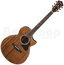 Ibanez AE 245-NT Mahagoni Natural High Gloss - Westerngitarre mit Tonabnehmer