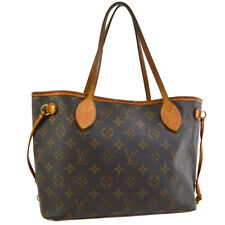 LOUIS VUITTON NEVERFULL PM HAND TOTE BAG PURSE MONOGRAM M40155 ep 30842