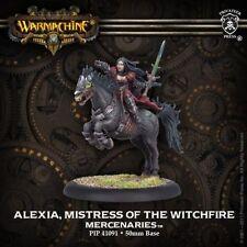 Warmachine: Mercenaries: Alexia Mistress of the Witchfire Solo (PIP41091) NEW