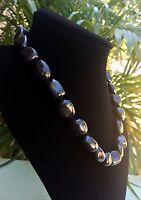 Elite Shungite Necklace Noble Shungite Tumbled Nugget Necklace Chain Karelia.