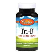 Carlson Tri-B Vitamin Complex with B6, B12 and Folic Acid, 360 Tablets