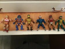 1980's Vintage Lot Of 6 Masters of the Universe He-Man Figures