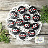 "12 Cross Country Run Pins Badges 1 1/4"" PINBACK party favor gift trade DecoWords"