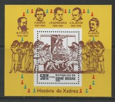 Thematic Stamps Others - GUINEA BISSAU 1983 CHESS MS mint