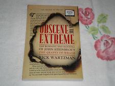 OBSCENE EXTREME by RICK WARTZMAN         -ARC-   JA