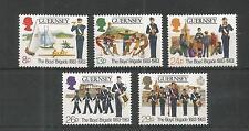 GUERNSEY 1983 BOYS BRIGADE SG,268-272 UM/M N/H LOT R175
