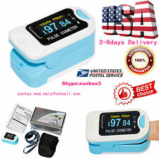 Hot sale 2018 Finger Pulse O2 Monitor OLED Fingertip Oximeter SpO2 PR With Case