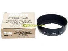 Nikon paraluce HB-2 per Nikkor 35/105mm. f3,5-4,5, originale. HB2