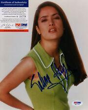 SALMA HAYEK SIGNED SEXY COLOR PHOTO GREAT ITEM PSA DNA