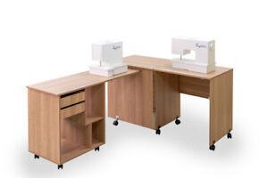 Comfort 8 | Sewing Machine Cabinet Overlock Desk Hobby Storage Craft Table