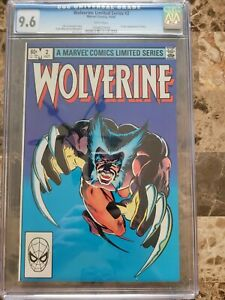 Wolverine Limited Series #2 CGC 9.6 White Pages 1st Appearance of Yukio 1982